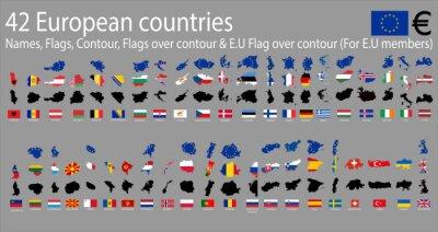 Cuadro 42 países europeos