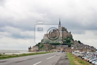 abadía de Mont Saint-Michel. Francia