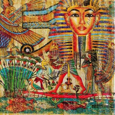 abstracción del egipcio del vintage