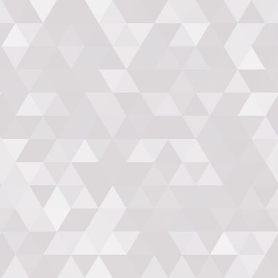 Cuadro Abstract geometric background of triangular polygons