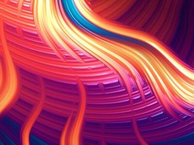 Cuadro Abstracta enérgica imagen de fondo / fondo Modern