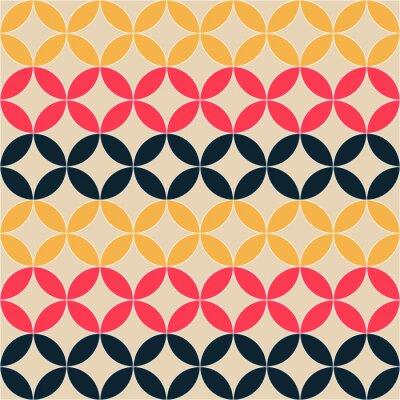 Cuadro abstracta patrón artística geométrica
