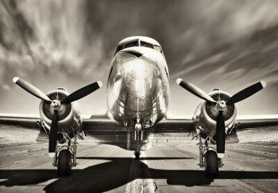 Cuadro Aeroplano vintage