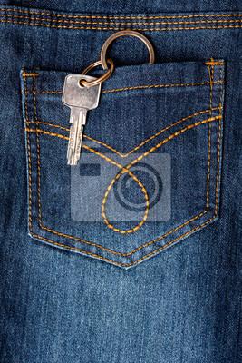 34f04d5888 Cuadro Afine el colgante de su bolsillo de atrás de los pantalones vaqueros