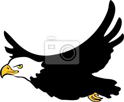 Águila calva pinturas para la pared • cuadros envergadura, ala ...