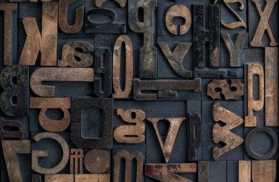 Cuadro Alfabeto de letras