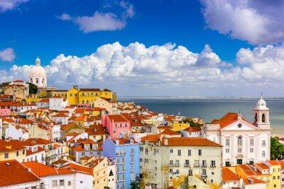Cuadro Alfama de Lisboa Paisaje urbano