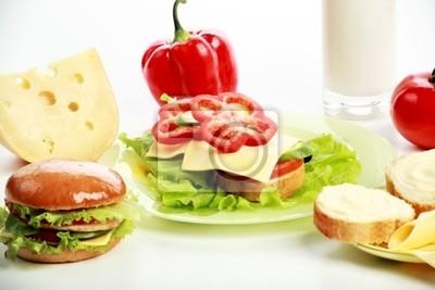 alimento almuerzo