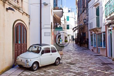 Cuadro alleyway of Otranto, Italy