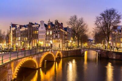Cuadro Amsterdam Canals