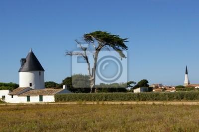 ancien moulin à Ars-en-Ré