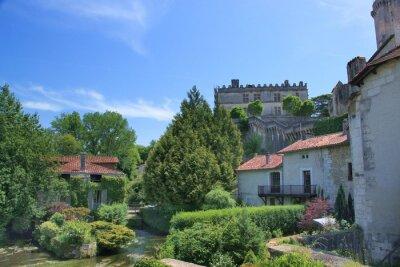 Ancien moulin à Bourdeilles (Dordoña)