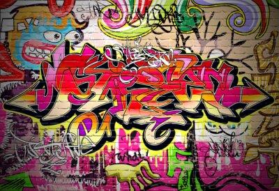 Cuadro Antecedentes Graffiti Art vectorial