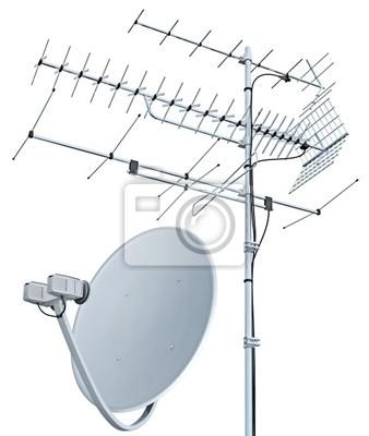 648b3148acf17 Antena tv e antena parabolica pinturas para la pared • cuadros TV ...