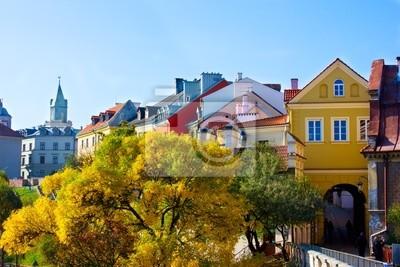 antigua ciudad de Lublin, Polonia