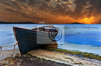 Antiguo barco de pesca