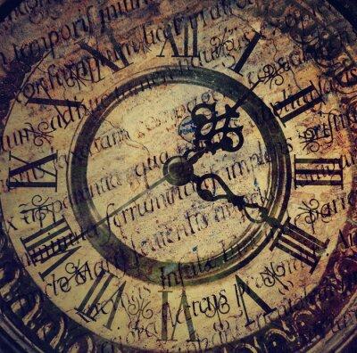 Cuadro Antiguo reloj antiguo