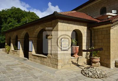 Apuesta Jimal (Jamal) monasterio católico, Israel