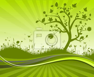 Árbol Mapa prado