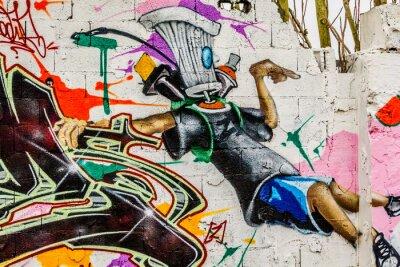 Cuadro Arte callejero Graffiti