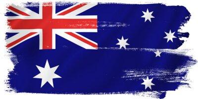 Cuadro Australia bandera