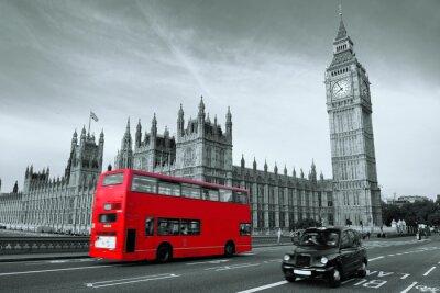 Cuadro Autobús en Londres