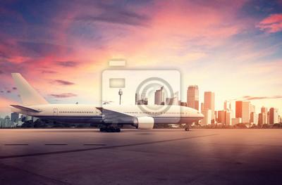 Cuadro Avión y Big City