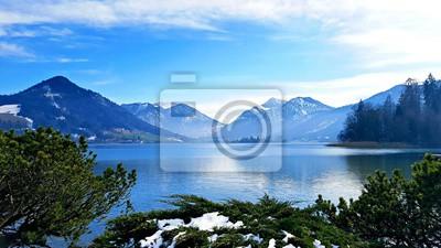 Cuadro Azul alpino
