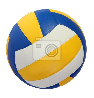 Azul amarillo bola voleibol oscuro sobre un fondo blanco pinturas jpg  383x400 Bola voleibol c4be2cdd274cd