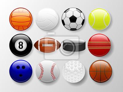 Balones deportivos pinturas para la pared • cuadros pelota de tenis ... 45f6229aca50b