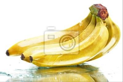 bananas mojadas