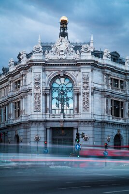 Cuadro Banco de España Edificio Antiguo