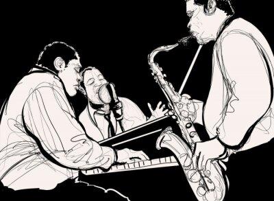 Cuadro Banda de jazz