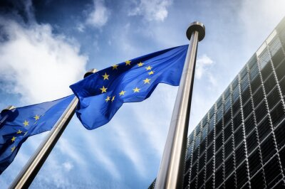 Cuadro Banderas de la Unión Europea