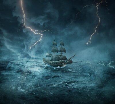 Cuadro barco fantasma
