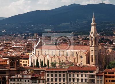 Basílica de Santa Croce. Florencia, Italia