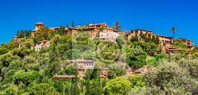Berg Dorf Hügel Landschaft Mediterráneo Mallorca Deia