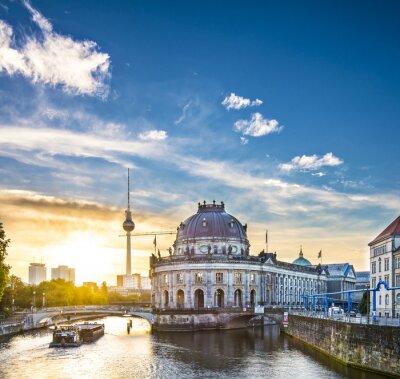 Cuadro Berlín, Alemania Escena en Isla de los Museos