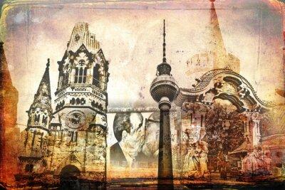Cuadro Berlín arte diseño ilustración