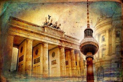 Cuadro Berlín arte, ilustración, diseño