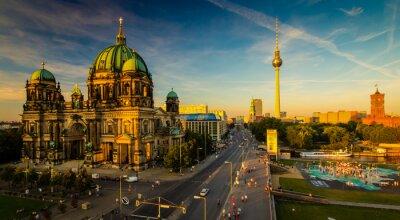 Cuadro Berlín - vista a la ciudad