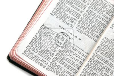 Biblia Abierta En Philemon Pinturas Para La Pared Cuadros Nuevo