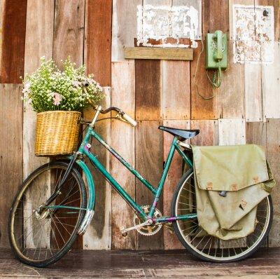 Cuadro bicicleta de la vendimia