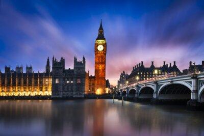 Cuadro Big Ben y la Cámara del Parlamento