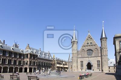 Binnenhof, Ridderzaal y el Parlamento holandés