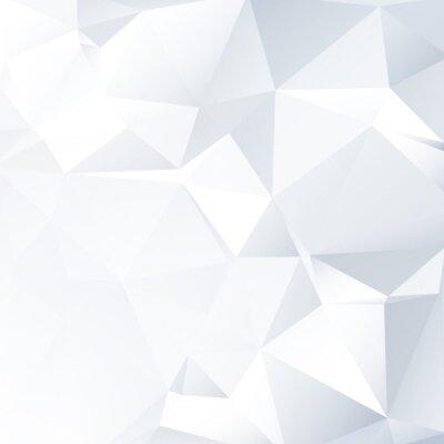 Cuadro Blanco y Negro lowpoly Fondo Vector | Diseño EPS10