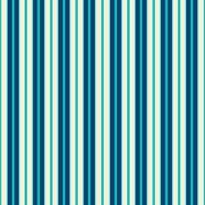 Cuadro Blue Lines Pattern