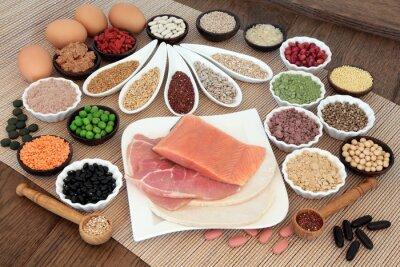 Cuadro Body Building Alimentación dietética