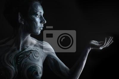 Bodypainting proyecto: arte, moda, belleza