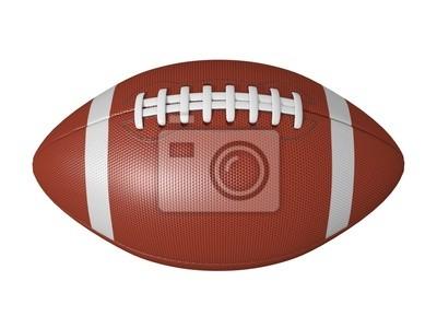 f998f7daa7 Bola del fútbol americano aislado en un fondo blanco pinturas para ...